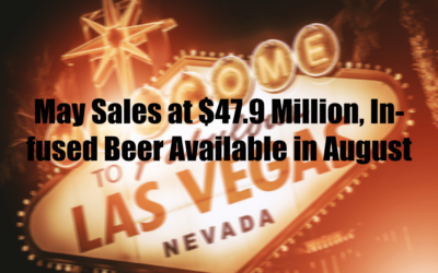 May Sales at $47.9 Million, Infused Beer Available in August